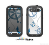 The Nautical Anchor Collage Skin For The Samsung Galaxy S3 LifeProof Case