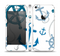 The Nautical Anchor Collage Skin Set for the Apple iPhone 5
