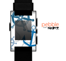 The Nautical Anchor Collage Skin for the Pebble SmartWatch