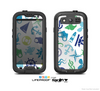 The Nautical Vector Shapes Skin For The Samsung Galaxy S3 LifeProof Case
