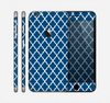 The Navy & White Seamless Morocan Pattern Skin for the Apple iPhone 6 Plus