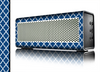 The Navy & White Seamless Morocan Pattern Skin for the Braven 570 Wireless Bluetooth Speaker