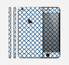 The Navy & White Seamless Morocan Pattern V2 Skin for the Apple iPhone 6 Plus