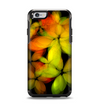 The Neon Blurry Translucent Flowers Apple iPhone 6 Otterbox Symmetry Case Skin Set