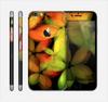 The Neon Blurry Translucent Flowers Skin for the Apple iPhone 6