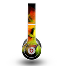 The Neon Blurry Translucent Flowers Skin for the Beats by Dre Original Solo-Solo HD Headphones
