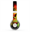 The Neon Blurry Translucent Flowers Skin for the Beats by Dre Solo 2 Headphones