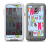 The Neon Clothes Line Pattern Skin for the Samsung Galaxy S5 frē LifeProof Case