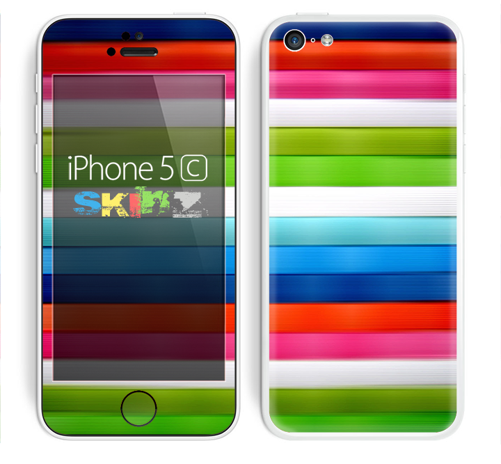 The Neon ColorBar Skin for the Apple iPhone 5c