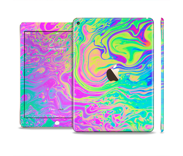 The Neon Color Fushion Skin Set for the Apple iPad Pro