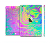 The Neon Color Fushion Full Body Skin Set for the Apple iPad Mini 3