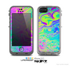 The Neon Color Fushion Skin for the Apple iPhone 5c LifeProof Case