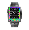 The Neon Color Fushion V3 Skin for the Pebble Steel SmartWatch