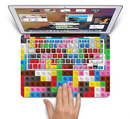 "The Neon Colored Building Blocks Skin Set for the Apple MacBook Pro 15"" with Retina Display"