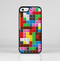 The Neon Colored Building Blocks Skin-Sert for the Apple iPhone 5c Skin-Sert Case