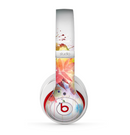 The Neon Colored Watercolor Branch Skin for the Beats by Dre Studio (2013+ Version) Headphones