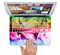 "The Neon Glowing Fumes Skin Set for the Apple MacBook Pro 15"" with Retina Display"