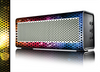 The Neon Glowing Grill Mesh Skin for the Braven 570 Wireless Bluetooth Speaker