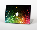 "The Neon Glowing Grunge Drops Skin Set for the Apple MacBook Pro 15"" with Retina Display"