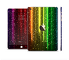 The Neon Glowing Rain Full Body Skin Set for the Apple iPad Mini 3