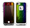 The Neon Glowing Rain Skin for the iPhone 5-5s fre LifeProof Case