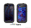 The Neon Glowing Strobe Lights Skin For The Samsung Galaxy S3 LifeProof Case