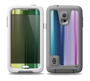 The Neon Horizontal Color Strips Skin for the Samsung Galaxy S5 frē LifeProof Case