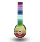 The Neon Horizontal Color Strips Skin for the Beats by Dre Original Solo-Solo HD Headphones