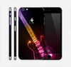The Neon Light Guitar Skin for the Apple iPhone 6 Plus
