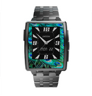 The Neon Multiple Peacock Skin for the Pebble Steel SmartWatch