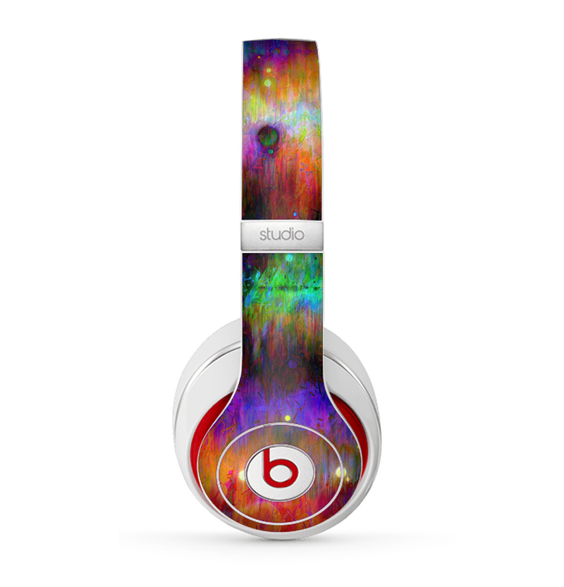 The Neon Paint Mixtured Surface Skin for the Beats by Dre Studio (2013+ Version) Headphones