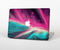 "The Neon Pink & Green Leaf Skin Set for the Apple MacBook Pro 15"" with Retina Display"