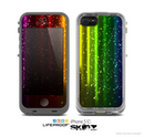 The Neon Rain Skin for the Apple iPhone 5c LifeProof Case