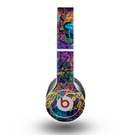 The Neon Robots Skin for the Beats by Dre Original Solo-Solo HD Headphones