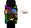 The Neon Skulls Skin for the Pebble SmartWatch