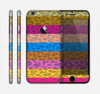 The Neon Striped Cheetah Animal Print Skin for the Apple iPhone 6