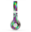 The Neon Tie-Dye Flower Skin for the Beats by Dre Solo 2 Headphones