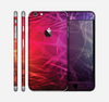 The Neon Translucent Swirls Skin for the Apple iPhone 6 Plus