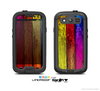 The Neon Wood Color-Planks Skin For The Samsung Galaxy S3 LifeProof Case