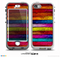 The Neon Wood Color-Planks Skin for the iPhone 5-5s NUUD LifeProof Case for the lifeproof skins
