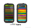 The Neon Wood Planks Skin For The Samsung Galaxy S3 LifeProof Case