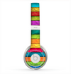 The Neon Wood Planks Skin for the Beats by Dre Solo 2 Headphones