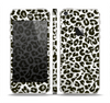 The Neutral Cheetah Print Vector V3 Skin Set for the Apple iPhone 5