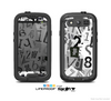 The Newspaper Letter Collage Skin For The Samsung Galaxy S3 LifeProof Case