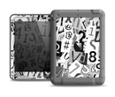 The Newspaper Letter Collage Apple iPad Air LifeProof Fre Case Skin Set