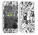 The Newspaper Letter Collage Skin for the Apple iPhone 5c