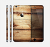 The Old Bolted Wooden Planks Skin for the Apple iPhone 6 Plus