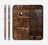 The Old Worn Wooden Planks V2 Skin for the Apple iPhone 6