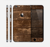 The Old Worn Wooden Planks V2 Skin for the Apple iPhone 6 Plus
