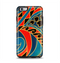 The Orange & Blue Abstract Shapes Apple iPhone 6 Plus Otterbox Symmetry Case Skin Set